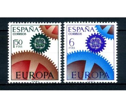 İSPANYA ** 1967 E.CEPT TAM SERİ SÜPER(110514)