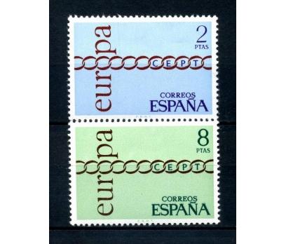 İSPANYA ** 1971 E.CEPT TAM SERİ SÜPER(120514)