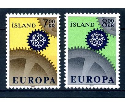 İZLANDA ** 1967 E.CEPT TAM SERİ SÜPER (110514)