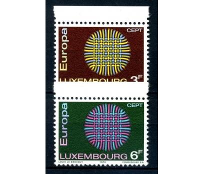 LÜKSEMBURG ** 1970 E.CEPT TAM SERİ SÜPER(120514)