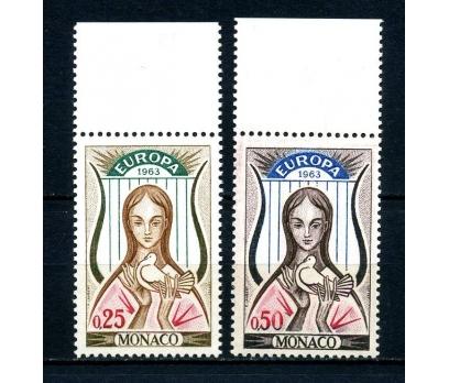 MONAKO **1963 E.CEPT TAM SERİ SÜPER(100514)