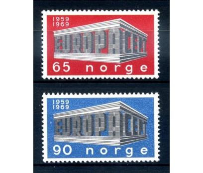 NORVEÇ ** 1969 E.CEPT TAM SERİ SÜPER(120514)