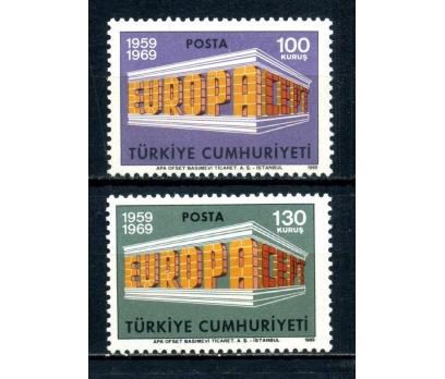 TÜRKİYE ** 1969 E.CEPT TAM SERİ SÜPER(100514)