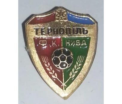 FK NYVA TEROPIL FUTBOL KULUBÜ (UKRAYNA) ROZETİ.