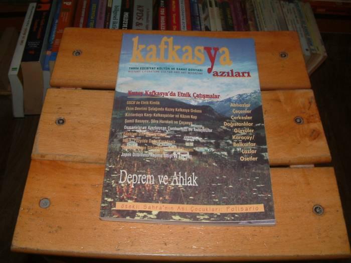 İLKSAHAF&KAFKASYA YAZILARI-1999 SONBAHAR 1