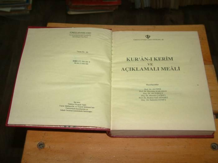 İLKSAHAF&KUR'AN-I KERİM VE AÇIKLAMALI MEALİ 1