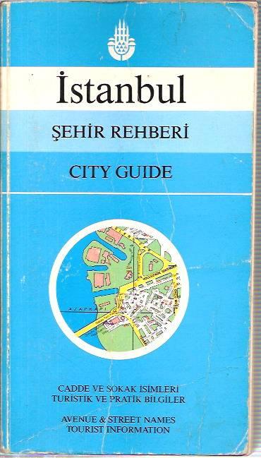 İSTANBUL ŞEHİR REHBERİ-CITY GUIDE-1989 1