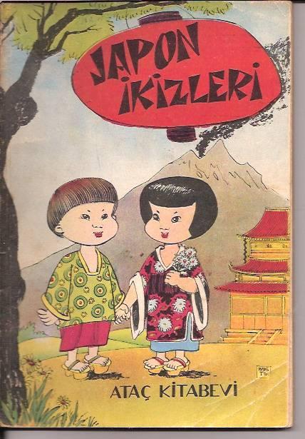 JAPON İKİZLERİ -ANNE MAHGİN-1961 1