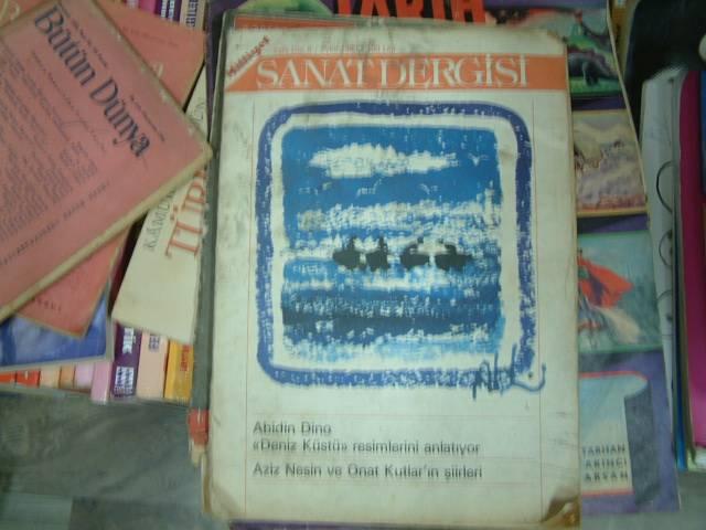 SANAT DERGİSİ-EYLÜL 1980-MİLLİYET YAY. 1