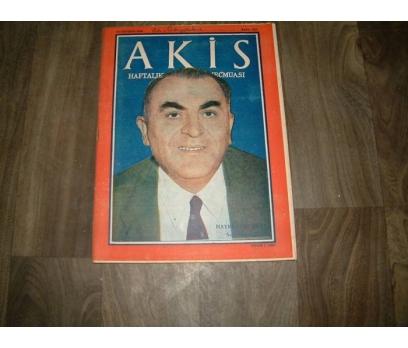 AKİS-HAYRETTİN PERK SON HAZIRLIK-10 AĞUSTOS-1960