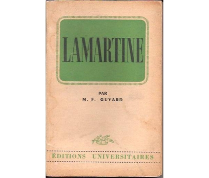 ALPHONSE DE LAMARTINE-M.F.GUYAR-1956-FRANSIZCA