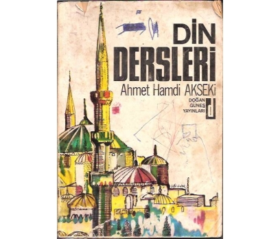 DİN DERSLERİ-AHMET HAMDİ AKSEKİ-1970