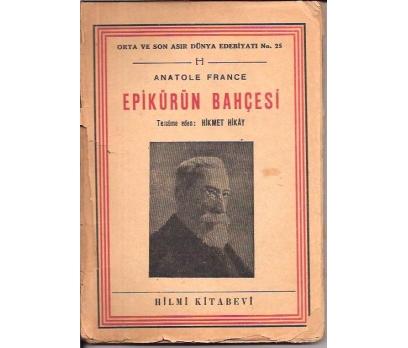 EPİKÜRÜN BAHÇESİ-ANATOLE FRANCE-1947