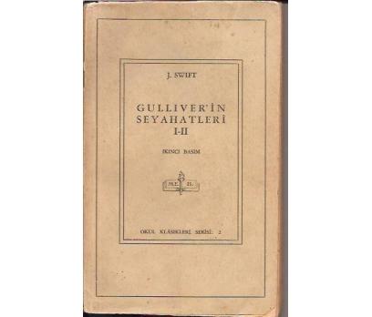 GULLIVER'İN SEYAHATLERİ 1-2-J.SWIFT-
