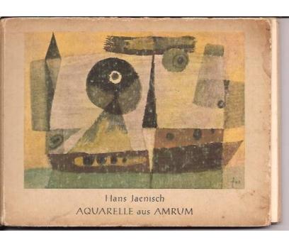 HANS JAENISCH-AQUARELLE AUS AMRUM-1958-