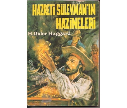 HZ.SÜLEYMAN HAZİNELERİ-H.RIDER HAGGARD-1976