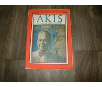 İLK&AKİS-B.MİL.GEN.SEK.DAG HAMMERSK JOELD-1958 1