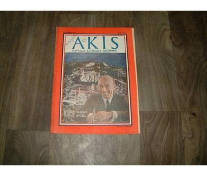 İLK&AKİS-KEMAL AYGÜN BELEDİYE BAŞKANI-1958