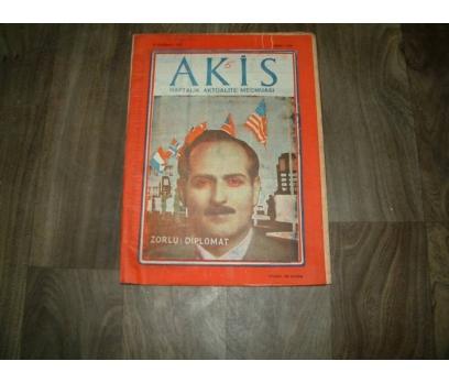İLK&AKİS-ZORLU DİPLOMAT-28 HAZİRAN 1958