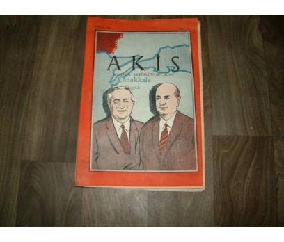 İLKS&AKİS-ÇANAKKALE GEYİKLİ-29 EYLÜL 1959