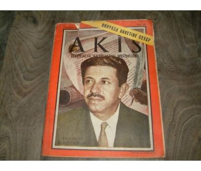 İLKS&AKİS DERGİSİ-SAYI 305-23 HAZİRAN 1960