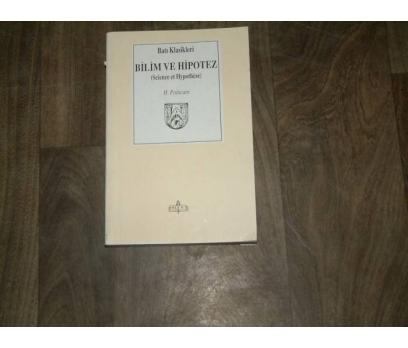 İLKS&BİLİM VE HİPOTEZ-H.POİNCARE-ÇEV.FETHİ YÜCEL