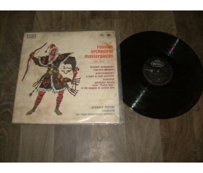 İLKS&GEORGES PRETRE-RUSSIAN ORCHESTRAL- LP