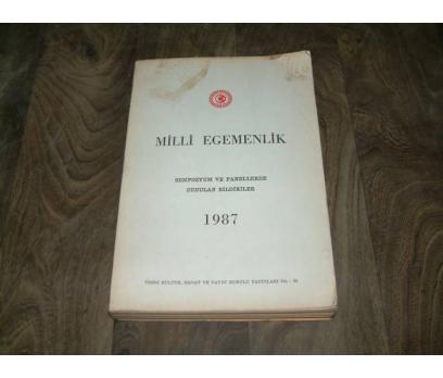 İLKS&MİLLİ EGEMENLİK-SEMPOZYUM VE PANELLERLDE