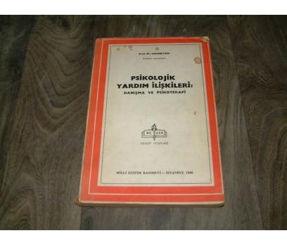 İLKS&PSİKOLOJİK YARDIM İLİŞKİLERİ-DANIŞMA VE PSİ