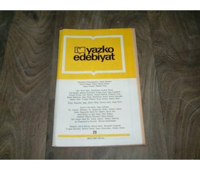 İLKS&YAZKO EDEBİYAT DERGİSİ-SAYI 29