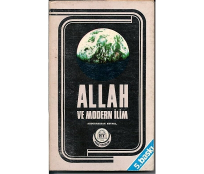 İLKSAHAF&ALLAH VE MODERN İLİM<P>ABDURREZ 1