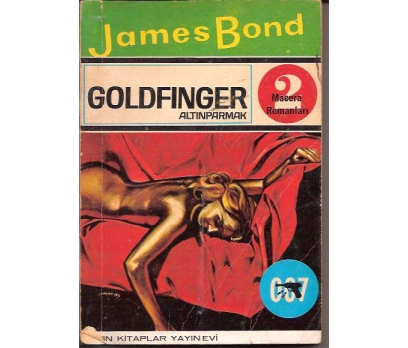 İLKSAHAF&ALTINPARMAK-JAMES BOND-IAN FLEMING