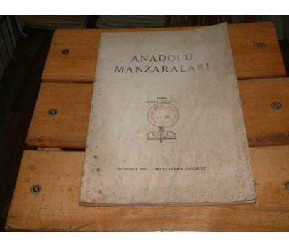 İLKSAHAF&ANADOLU MANZARALARI-HİKMET BİRAND