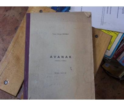 İLKSAHAF&AVANAK-GOERGES FEYDEAU-LÜTFİ AY-1987