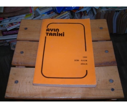 İLKSAHAF&AYIN TARİHİ-1984-EKİM KASIM ARALIK