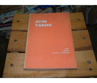 İLKSAHAF&AYIN TARİHİ-1993-NİSAN MAYIS HAZİRAN