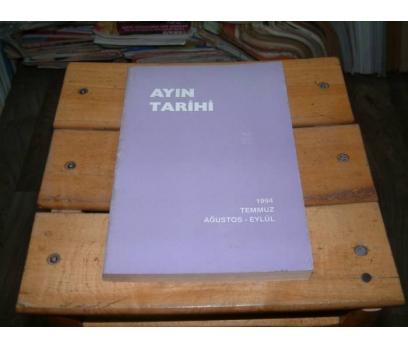İLKSAHAF&AYIN TARİHİ-1994-TEMMUZ AĞUSTOS EYLÜL
