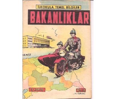 İLKSAHAF&BAKANLIKLAR-NO:18-İLKOKUL TEMEL-1948