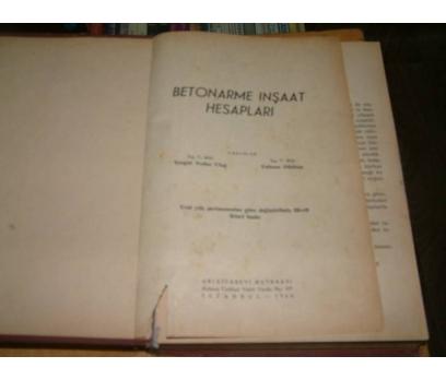 İLKSAHAF&BETONARME İNŞAAT HESAPLARI