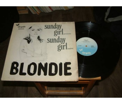 İLKSAHAF&BLONDIE-SUNDAY GIRL-LP PLAK