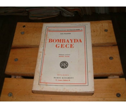 İLKSAHAF&BOMBAYDA GECE-LOUİS BROMFİELD