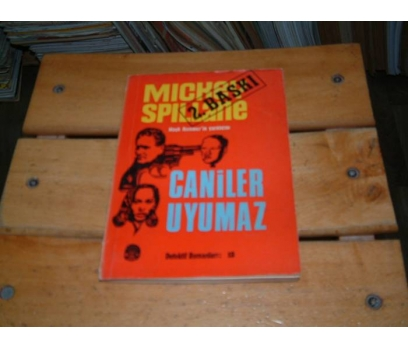 İLKSAHAF&CANİLER UYUMAZ-MICKEY SPILLANE