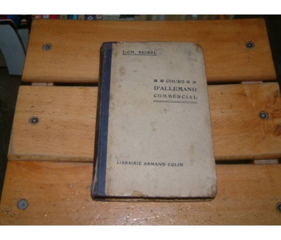 İLKSAHAF&D'ALLEMAND COMMERCIAL - J CH REIBEL
