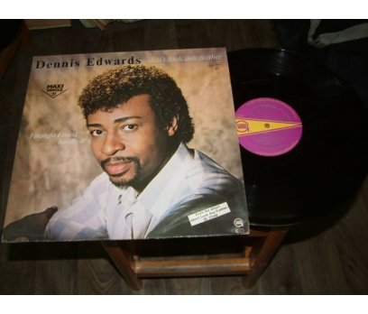 İLKSAHAF&DENNIS EDWARDS-I THOUGHT-LP PLAK
