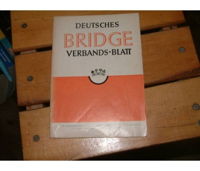 İLKSAHAF&DEUTSCHES-BRIDGE-VERBANDS-BLATT