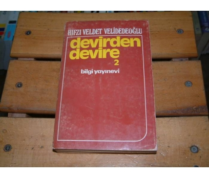 İLKSAHAF&DEVİRDEN DEVİRE 2-HIFZI VELDET VELİDE