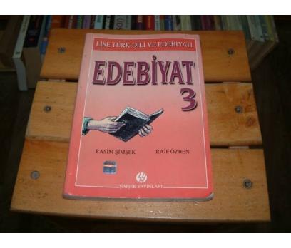 İLKSAHAF&EDEBİYAT 3-RASİM ŞİMŞEK-RAİF ÖZBEN