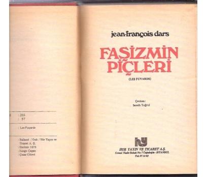 İLKSAHAF&FAŞİZMİN PİÇLERİ-JEAN-FRANÇOİS DARS-978 1