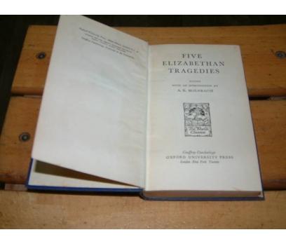 İLKSAHAF&FIVE ELIZABETHAN TRAGEDIES-A.K.McILWRAI