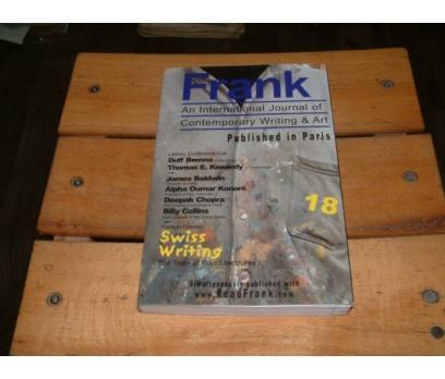 İLKSAHAF&FRANK-AN INTERNATIONAL JOURNAL OF